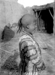 Cool haircut :) Samarkand, 1932. Thanks to the authors of these photos (c) P. Keldyushev